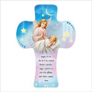 croce angelo custode bambino